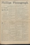 Phillips Phonograph : Vol 4. No. 6 October 15, 1881 by Phillips Phonograph Newspaper