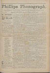 Phillips Phonograph : Vol 4. No. 8 October 29, 1881 by Phillips Phonograph Newspaper