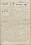 Phillips Phonograph : Vol 4. No. 19 January 14, 1882 by Phillips Phonograph Newspaper