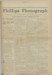 Phillips Phonograph : Vol 4. No. 31 April 08, 1882 by Phillips Phonograph Newspaper