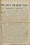 Phillips Phonograph : Vol 4. No. 34 April 29, 1882 by Phillips Phonograph Newspaper