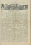 Phillips Phonograph : Vol. 5, No. 5 October 06,1882 by Phillips Phonograph Newspaper