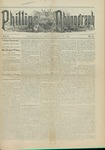Phillips Phonograph : Vol. 5, No. 6 October 13,1882 by Phillips Phonograph Newspaper