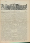 Phillips Phonograph : Vol. 5, No. 7 October 20,1882 by Phillips Phonograph Newspaper