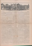 Phillips Phonograph : Vol. 5, No. 10 November 10,1882 by Phillips Phonograph Newspaper
