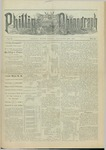 Phillips Phonograph : Vol. 5, No. 11 November 17,1882 by Phillips Phonograph Newspaper