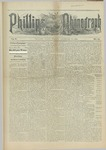 Phillips Phonograph : Vol. 5, No. 14 December 08,1882 by Phillips Phonograph Newspaper
