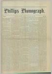 Phillips Phonograph : Vol. 5, No. 19 January 12,1883 by Phillips Phonograph Newspaper