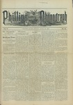 Phillips Phonograph : Vol. 5, No. 31 April 06,1883 by Phillips Phonograph Newspaper