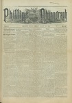 Phillips Phonograph : Vol. 5, No. 32 April 13,1883 by Phillips Phonograph Newspaper