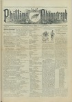 Phillips Phonograph : Vol. 5, No. 34 April 27,1883 by Phillips Phonograph Newspaper