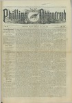 Phillips Phonograph : Vol. 5, No. 35 May 04,1883 by Phillips Phonograph Newspaper