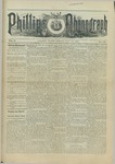 Phillips Phonograph : Vol. 5, No. 36 May 11,1883 by Phillips Phonograph Newspaper