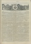 Phillips Phonograph : Vol. 5, No. 38 May 25,1883 by Phillips Phonograph Newspaper