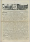 Phillips Phonograph : Vol. 5, No. 39 June 01,1883 by Phillips Phonograph Newspaper
