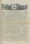 Phillips Phonograph : Vol. 5, No. 40 June 08,1883 by Phillips Phonograph Newspaper