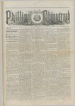 Phillips Phonograph : Vol. 5, No. 41 June 15,1883 by Phillips Phonograph Newspaper