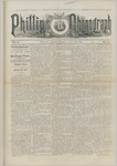 Phillips Phonograph : Vol. 5, No. 43 June 29,1883 by Phillips Phonograph Newspaper