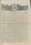 Phillips Phonograph : Vol. 5, No. 45 July 13,1883 by Phillips Phonograph Newspaper