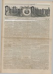 Phillips Phonograph : Vol. 5, No. 48 August 03,1883 by Phillips Phonograph Newspaper