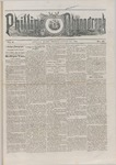 Phillips Phonograph : Vol. 5, No. 52 August 31,1883 by Phillips Phonograph Newspaper