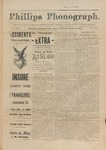 Phillips Phonograph : Vol. 3, No. 44 - July 5,1881 (Extra) by Phillips Phonograph Newspaper