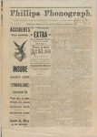 Phillips Phonograph : Vol. 3, No. 49 - August 9, 1881 (Extra) by Phillips Phonograph Newspaper