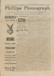 Phillips Phonograph : Vol. 3, No. 50 - August 16, 1881 (Extra) by Phillips Phonograph Newspaper