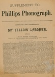 Supplement to Phillips Phonograph- My Fellow Laborer by Phillips Phonograph Newspaper