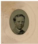 Little Boy-White Frame