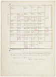 Pages 04.1-5. Plan of Township 18 Middle Division by Rufus Putnam