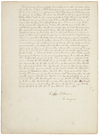 Page 50.1. Letter from Rufus Putnam Describing Plans of the Boundaries of Fifty Townships, 1786 by Rufus Putnam