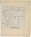 Page 31. Plan of Township 6 Range 8 WELS by Ira D. Eastman
