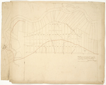 Page 38.  A Plan of a continuation of the survey of lots in Township No. 18 in the 6th range, also of a road from Fish River mills through said Township made in 1847.