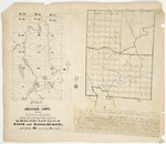 Page 40.  Plan of that part of the Undivided Lands, in the State of Maine, which was surveyed and explored by Order of the Land Agents of Maine and Massachusetts, A.D. 1847;  Survey of township No. 7 Range 2 north of the Lottery Lands into Lots