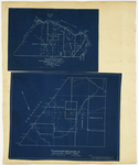 Page 58.5.  Plan of Township 20 Ranges 11 and 12 WELS, Aroostook County;  Plan of Township 18 Range 13, Aroostook County