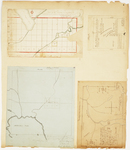Page 04. Plan of the Taunton and Raynham Tract; Plan of Township 2 Range 8 WELS; Plan of Township 3 Range 12; Plan of Township 3 Range 7 BKP WKR by Samuel Weston, David Haynes, C. E. Lord, Levi B. Ricker, and William R. Flint