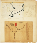 Page 06.  Plan of Township 1 Range  7 West of Kennebec River (called Sapling);  Plan of the Public Land in Township 3 in Range 14;  Plan of Township 4 West of Kennebec River in the Million Acres known as the King & Bartlett Township