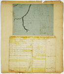 Page 09.  Plan of Township A Range 7 WELS;  Plan of Hobbstown and Middlesex Canal Grant