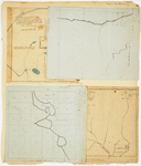 Page 11.  Plan of Township 2 Range 4 WKR and Public Land;  Plan of Township 1 Range 7 WELS;  Plan of Township 7 Range 7 WELS;  Plan of Public Lands in Township 5 Range 6 WKR