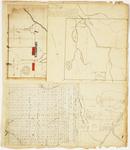 Page 15.  Plan of Township 5 Range 8 WELS;  Plan of Township 2 Range 3 NBKP (Soldiertown);  Plan of Township 1 Range 5 BKP WKR (West Forks Plantation)