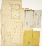 Page 19.  Plan of the Amherst Academy Grant or part of Township 5 Range 1 NBPP;  Plan of the south half of Township 3 Range 6 WELS;  Plan of Township 1 Range 6 WELS;  Plan of Township W (Moosehead Lake)