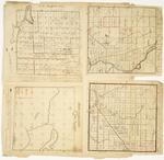 Page 21.  Plan of Township 5 Range 6 WELS;  Plan of Township 11 Range 5 WELS;  Plan of Township 6 Range 1 NBKP;  Plan of Township D Range 1 WELS