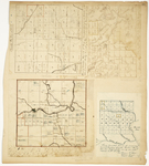 Page 24.  Plan of Township 9 Range 6 WELS Oxbow Plantation;  Plan of Township 9 Range 4 WELS;  Plan of Township 4 IP Veazie Gore;  Plan of Township 2 Range 2 NBKP Brassua