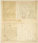 Page 26.  Plan of Township 4 in the fifth Range of Townships west from the east line of the State;  Plan of Township 11 Range 6 west from the east line of the State;  Plan of Township F Range 2;  Plan of Township 8 Range 7 WELS