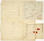 Page 32.  Plan of Township C, Range 1 WELS;  Plan of Township 8 Range 3 WELS;  Plan of Township B, Range 11 WELS;  Plan of Township 1 West of the Kennebec River in the fifth range (called the Salmon Stream Tract) in Bingham's Million Acre Purchase