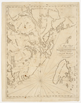 Page 01.5. A Map and Chart of the Bays, Harbours, Post Roads, and Settlements in Passamaquoddy and Machias with the large Island of Grand Manan, 1810 by B. R. Jones