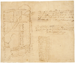 Page 02.  Plan of Ten Thousand Acres of land exclusive of the waters of Aroostook River laid out to William Eaton, Esq.;  A Plan of 23,040 Acres of Land Surveyed and laid out for the Town of Plymouth exclusive of the waters of the Aroostook River