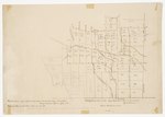Page 02.5. Plan of Bowerbank, County of Piscataquis, July 1841 by Jefferson Chamberlain and Rufus Gilmore