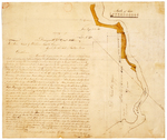 Page 04. Plan of Land in Township No. 5 in Schoodic River for Daniel Hill by Benjamin R. Jones